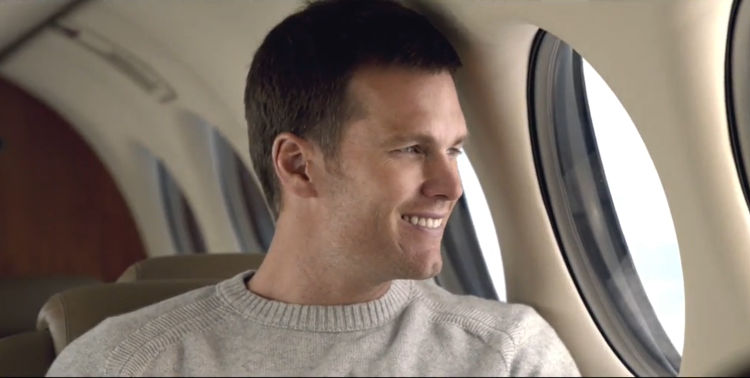 Wheels Up Tom Brady